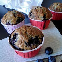 Matildenspitze: Blåbær muffins - best ever!