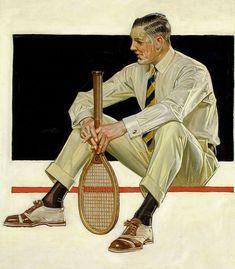 Illustration for Arrow shirts ad, 1922
