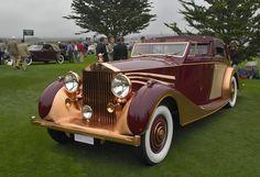 1937 Rolls-Royce Phantom III Freestone and Webb Sedanca de Ville Vintage Cars, Antique Cars, Automobile, Rolls Royce Cars, Pebble Beach Concours, Rolls Royce Phantom, Classy Cars, Classic Motors, Bmw
