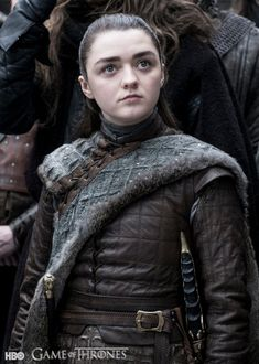 Arya Stark (Maisie Williams) - Game of Thrones Season 8 Character Photos : TV Guide Source by josiet Game Of Thrones Saison, Arte Game Of Thrones, Game Of Thrones Facts, Game Of Thrones Funny, Game Of Thrones Characters, Game Of Thrones Arya, Game Of Thrones Summary, Game Of Thrones Pictures, Game Of Thrones Costumes