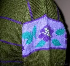 Quick and easy! Duplicate Stitch Highlight Detail
