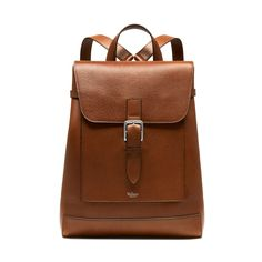 Shop the Chiltern Backpack in Oak Natural Grain Leather at Mulberry.com. The Chiltern collection puts iconic, practical hardware front and centre. Each new style within the range has been designed with a particular purpose: to suit formal work occasions, weekends, hands-free travel or overnight stays. This classic Backpack is one of the heritage-inspired pieces using traditional veg tanned leather in keeping with Mulberry's iconic DNA.