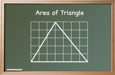 6-8 grade lesson area of triangles lesson sequences, ways to 'teach' and explain to students about the formula to work out area of a triangle, 1/2 base x height and why it is '1/2'.
