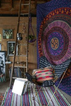 wall tapestry hippie