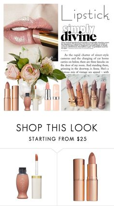 """Pucker Up: Spring Lips"" by dezaval ❤ liked on Polyvore featuring beauty and Charlotte Tilbury"
