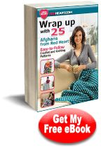 Wrap up With 25 Crochet and Knitting Afghan Patterns from Red Heart Yarn eBook | FaveCrafts.com