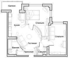 Дизайн интерьера в Ростове-на-Дону: Проект 026 октябрь 2012