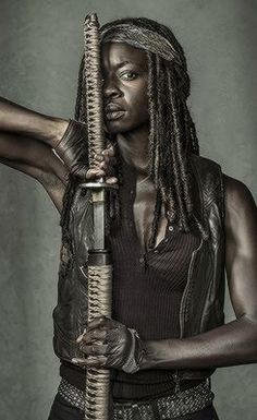 The Walking Dead Poster Michone
