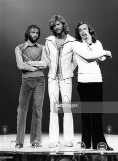 Maurice Gibb, Barry Gibb, Robin Gibb of the Bee Gees