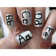 #BackToSchool // #Nail #Art