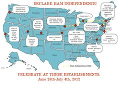Ham Independence Map!