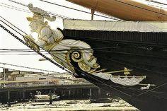 HMS Warrior Bow Figurehead