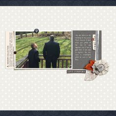 This layout by Jan Sowder was featured in the June issue of Spark magazine and uses a sketch/template from the Simple Scrapper membership.