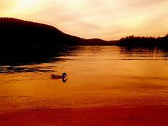 Sunset on Newfound Lake cmcloud2015