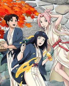 Sakura, Hinata and Tenten