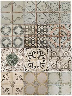 Love these tiles.