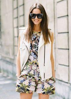 Spring Florals - #style #women #fashion #streetstyle - rossdujour.com