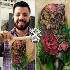 Aprenda a Tatuar do ZERO e especialize-se neste ramo profissionalmente. Saiba mais  ,CLIQUE NA IMAGEM E ACESSE O SITE ! #tattoo  #TATUAGEM