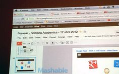 A Google employee giving a presentation appears to have accidentally leaked Google Drive by  accessing files in it.