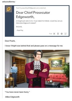 Kilometers Edgeworth<< I'm angry for laughing as much as I did...