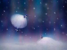 First Snow by thienbao on deviantART