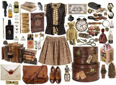 set, outfit, clothes, fashion details, style, Harry Potter