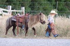 My little girls will be pretty cowgirls!