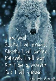 No matter how bad things get, always choose inner strength. Always choose survival.: