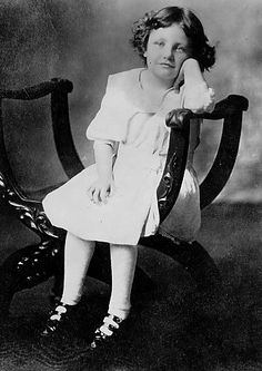 Joan Crawford age six