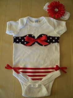 Bikini onsie. Kristin you need to make and sell these on your etsy! Especially with summer coming up!