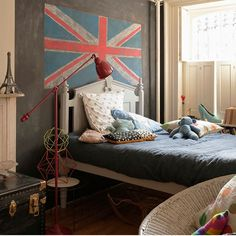 Child's room with Union Jack | Children's bedroom ideas | Childrens room | PHOTO GALLERY | Livingetc | Housetohome.co.uk
