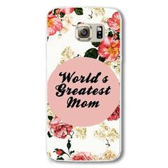 Phone Case for Samsung Galaxy S6 Hard Plastic Natural Scenery Pattern Flowers Printed Mobile phone bag