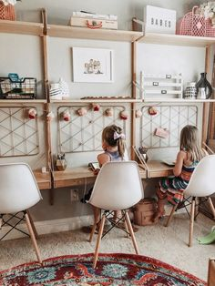 Mommy experts share Kid's Bedroom Storage Ideas That Are A Must See! Clever Storage and Beautiful Designs Create the Perfect kids room design also for a toddler Boy room and toddler girl room Kids Homework Station, Kids Homework Room, Kids Bedroom Storage, Kids Bedroom Ideas, Playroom Ideas, Bathroom Ideas, Kids Room Design, Playroom Design, Kid Spaces