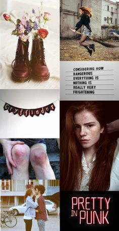 """Ginny Weasley aesthetic- the girls of hogwarts: """"The thing about growing up with Fred and George is that you sort of start thinking anything's possible if you've got enough nerve."""""""
