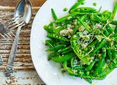 Frisk, Green Beans, Vegetables, Food, Noodle Salads, Vegetable Recipes, Eten, Veggie Food, Meals