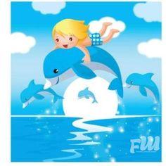 Free vector Beautiful Creative Dolphin In The Sea Background  https://fotkaew.ru/image/5UxN