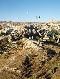 I'll get here eventually! I mean I am part Turkish. :P  Cappadoccia!