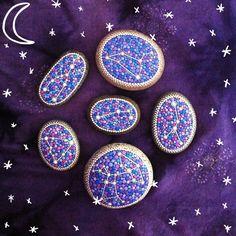 10) Rock Stars. Elspeth McLean constellation stones #star #constellations