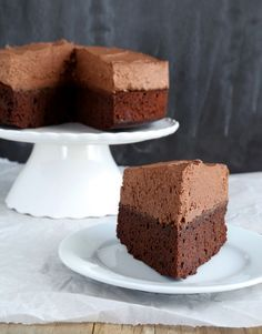 Gluten Free Chocolate Mousse Cake | Gluten Free on a Shoestring