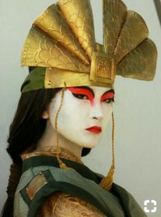"""""""I assure you, I would've done whatever it took to stop Chin. If I ever cosplayed, I would go as Avatar Freaking Kyoshi. Avatar Cosplay, Cosplay Diy, Cosplay Outfits, Halloween Cosplay, Best Cosplay, Avatar Costumes, Cosplay Ideas, Suki Avatar, Avatar Kyoshi"""