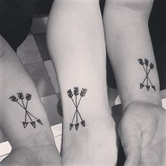 Tattoo for people with two siblings