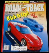 Road & Track Magazine - Lingenfelter Corvette