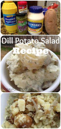 Dill Potato Salad Recipe Seriously THE BEST Potato salad recipe EVER!!!