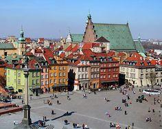 Stare Miasto (Old Town) Warsaw, Poland