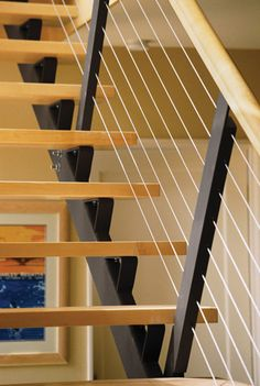 Go Contemporary with Open Stair Treads  Open stair treads and railings of…