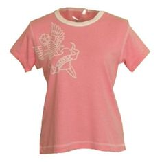 "Hot Mama Ink ""Fierce Love"" Short Sleeve Women's Tee, Pink Medium Hot Mama Ink. $21.00"