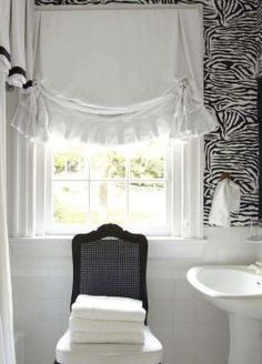 This White Cotton Fabric Shade Adds A Great Look To