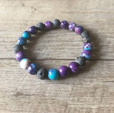 Excited to share the latest addition to my #etsy shop: Essential Oil Bracelet, Lava Bracelet, Aromatherapy Bracelet, Jade Bracelet, Diffuser Bracelet