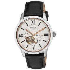#skeletonwatchshop #skeletonwatch #fossilwatch  Fossil Analog Display Automatic Self Wind Watch