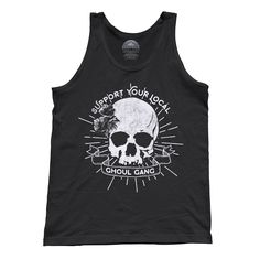 Unisex Support Your Local Ghoul Gang Tank Top